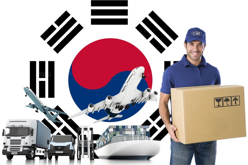 Dịch vụ Gửi hàng đi Hàn Quốc giá rẻ, uy tín tại TpHCM