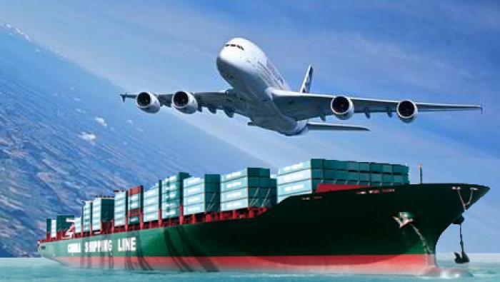 Vận tải đường biển - hàng không kết hợp