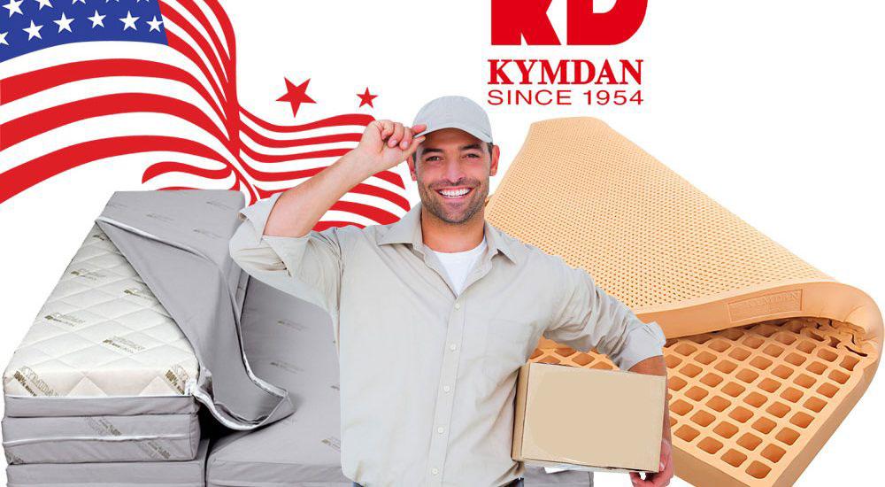 Dịch vụ Gửi nệm Kymdan đi Mỹ giá rẻ, uy tín tại TpHCM